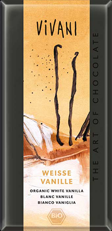 Белый шоколад с ванилью vivani (Vivani)
