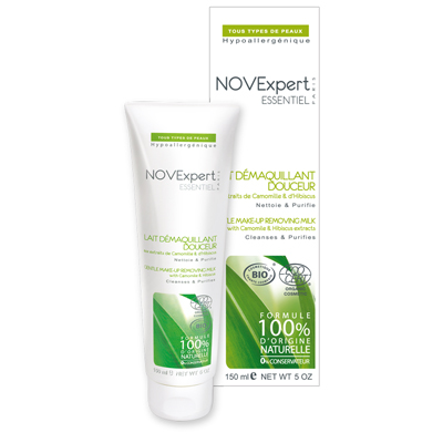 Нежное молочко для снятия макияжа essentiel novexpert (NOVExpert)