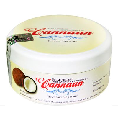 Масляный пилинг с кокосом и тростниковым сахаром cannaan (Cannaan)