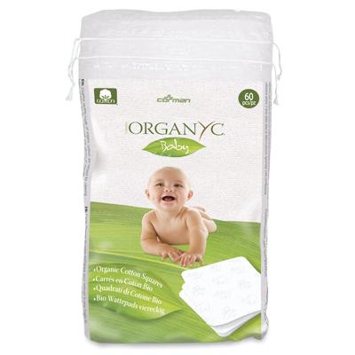 Детские ватные подушечки из органического хлопка organyc (Organyc)