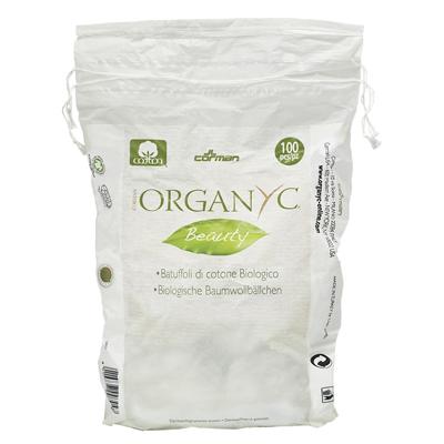 Ватные шарики из органического хлопка organyc (Organyc)