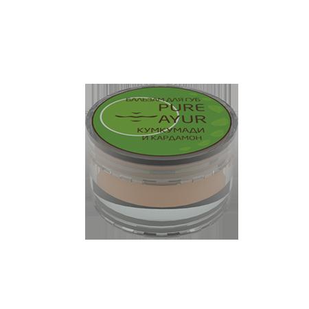 Бальзам для губ кардамон pure ayur (PURE AYUR - КУМКУМАДИ)