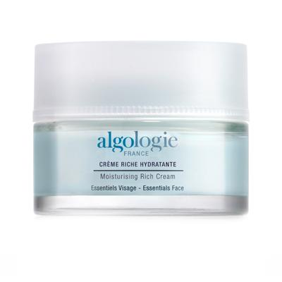 Увлажняющий крем для лица с насыщенной текстурой algologie (Algologie)