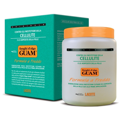 Маска антицеллюлитная с охлаждающим эффектом fanghi d'alga 1000 гр guam 0448