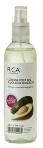 Очищающий лосьон после депиляции для чувствительных участков тела с маслом авокадо rica 100 мл (Rica)