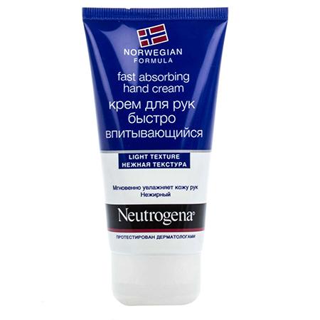 Быстро впитывающийся крем для рук (fast absorbing hand cream) neutrogena