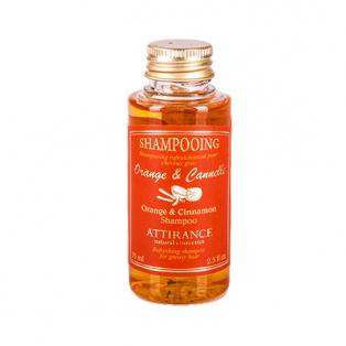 Шампунь «апельсин и корица» для нормальных волос attirance (75 мл)