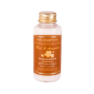 Увлажняющий кондиционер «мед и миндаль» для сухих волос attirance (75 мл)
