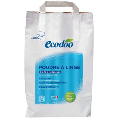 Порошок для стирки белого и цветного белья ecodoo  (3000 гр) (ECODOO)