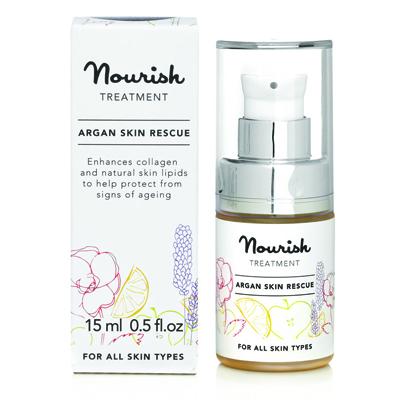 Восстанавливающая сыворотка для лица на основе арганового масла nourish (NOURISH)