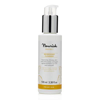 Очищающее молочко для сухой кожи лица nourish (NOURISH)