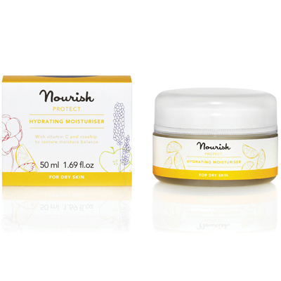 Защитный увлажняющий крем для сухой кожи лица nourish (NOURISH)