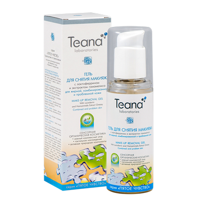 Гель для снятия макияжа для проблемной кожи тиана (Teana)