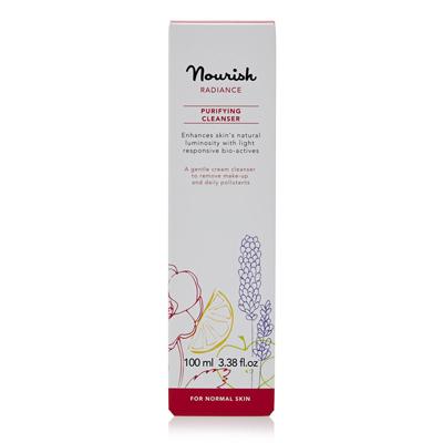 Очищающее молочко для  нормальной и зрелой кожи лица nourish (NOURISH)