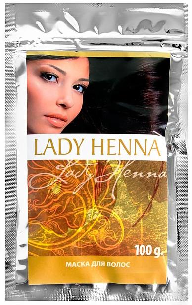 Маска для волос lady henna aasha