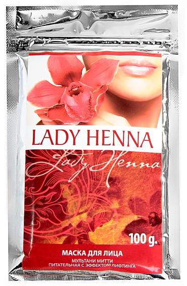 Маска для лица мультани митти lady henna aasha