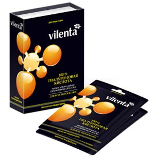 Профессиональная маска 100% гиалуроновая кислота vilenta (Vilenta)