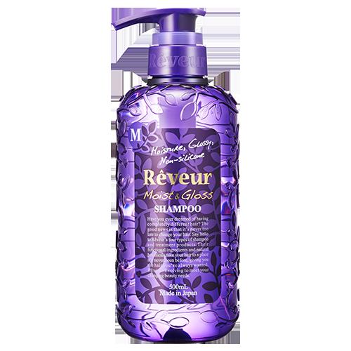 Шампунь увлажнение и блеск moist&gloss reveur (Reveur)