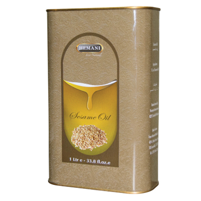 Натуральное масло кунжута 1000 мл хемани от DeoShop.ru