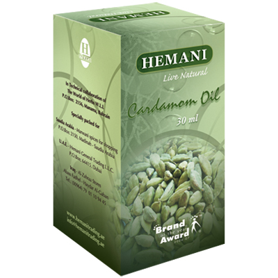 Масло кардамона 30 мл хемани от DeoShop.ru