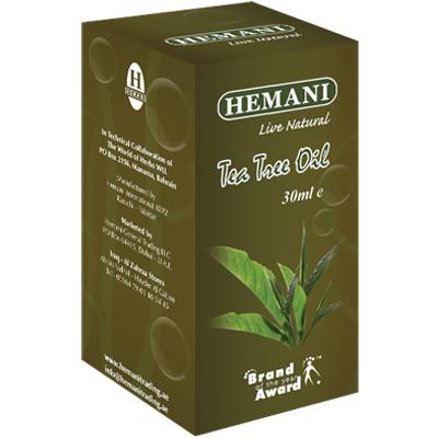 Масло чайного дерева 30 мл хемани масло мяты 30 мл хемани