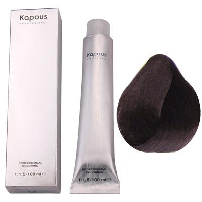 Крем-краска для волос (тон №4.8 какао) kapous professional (Kapous Professional)