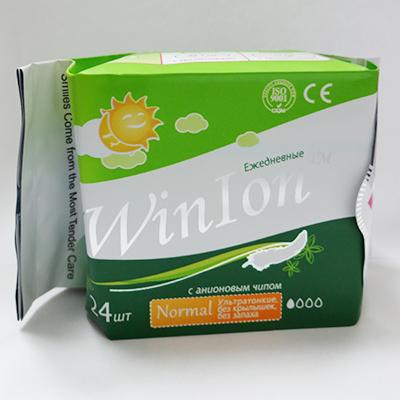Winalite Ежедневные анионовые прокладки winion love moon D142