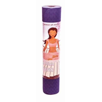 Коврик для йоги лотос light фиолетовый yoga