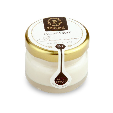 Мёд-суфле белый хлопок №81 30 мл peroni honey