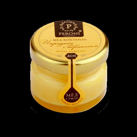 Мёд-коктейль парадайз с абрикосом №201 30 мл peroni honey кремacne med купить в магазине