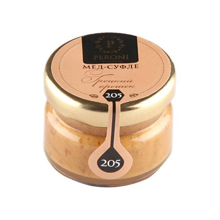 Мёд-суфле грецкий орешек №205 30 мл peroni honey