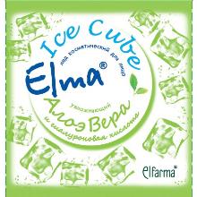 Косметический лед elma увлажняющий алоэ вера эльфарма (Эльфарма)