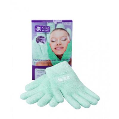 Увлажняющие гелевые перчатки цвет зеленый с лавандой spa belle (SPA Belle)