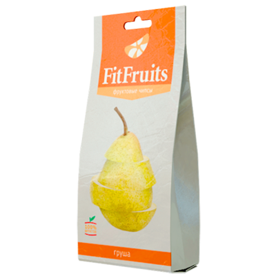 Фруктовые чипсы груша fitfruits (FitFruits)