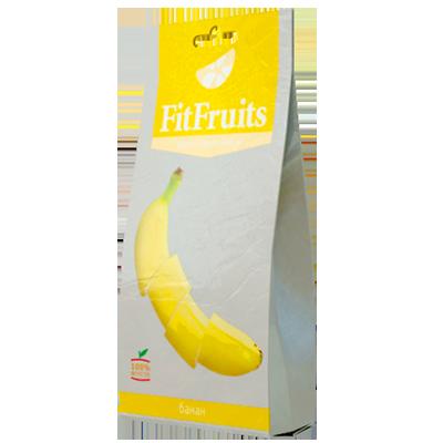 Фруктовые чипсы банан fitfruits