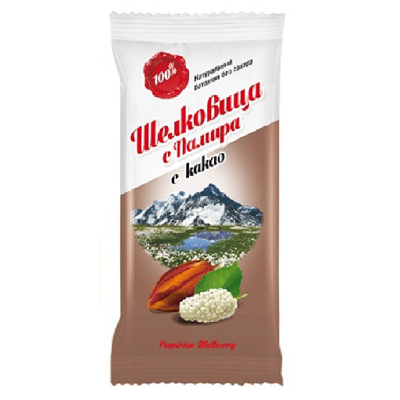 Батончик шелковица с какао дары памира
