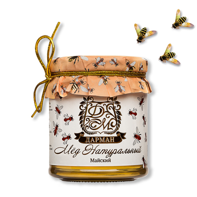 Мёд натуральный майский дарман