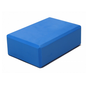 Пластиковый опорный блок для йоги из eva-пены yoga