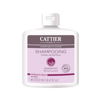 Шампунь для сухих волос с мякотью бамбука cattier (Cattier)