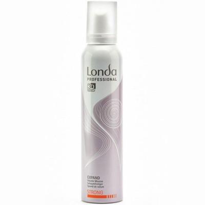 Пена для укладки волос сильной фиксации expand londa (Londa)