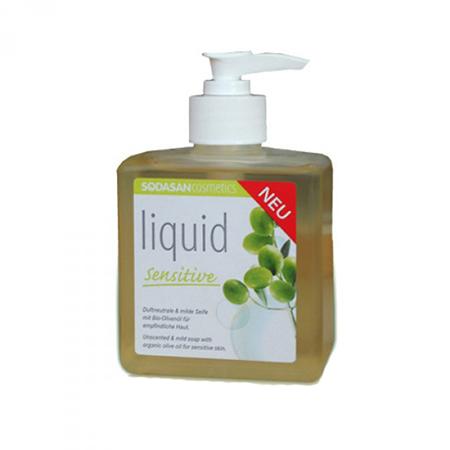 Жидкое мыло для чувствительной кожи sodasan (Sodasan)