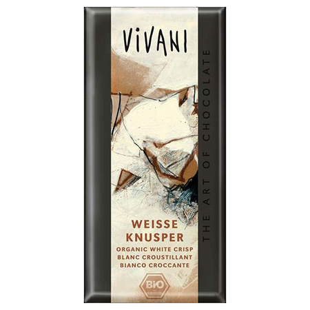 Белый хрустящий шоколад vivani (Vivani)