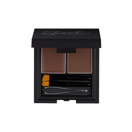 Набор для бровей brow kit dark sleek makeup