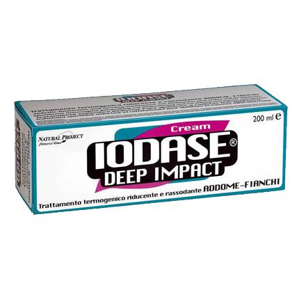 Разогревающий крем против жировых отложений (для женщин) «iodase deep impact crema»