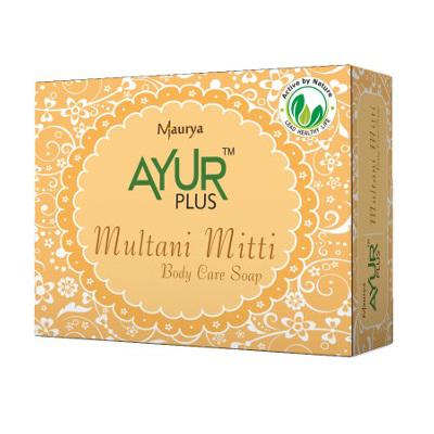 Натуральное мыло ручной работы мултани глина аюрком (АЮРКОМ)