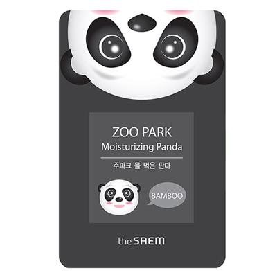 Увлажняющая тканевая маска с бамбуковой водой zoo park панда the saem (The Saem)