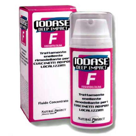 Сыворотка для удаления жировых отложений в проблемных местах (для женщин) iodase deep impact f (Natural Project - Iodase)