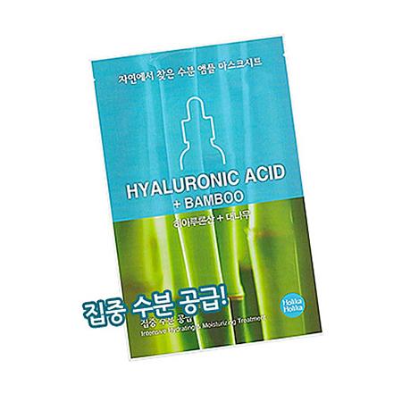 Увлажняющая тканевая маска для лица с гиалуроновой кислотой ampoule essence holika holika (Holika Holika)