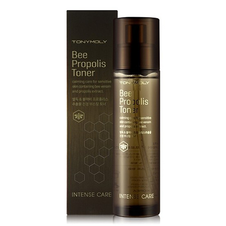 Тонер для проблемной кожи intense care bee propolis toner tony moly (Tony Moly)