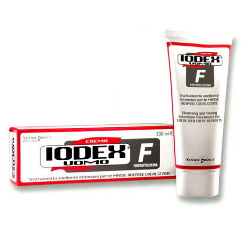 Natural Project - Iodase Крем для тела для удаления жировых отложений (для мужчин) «iodex uomo f» D2160